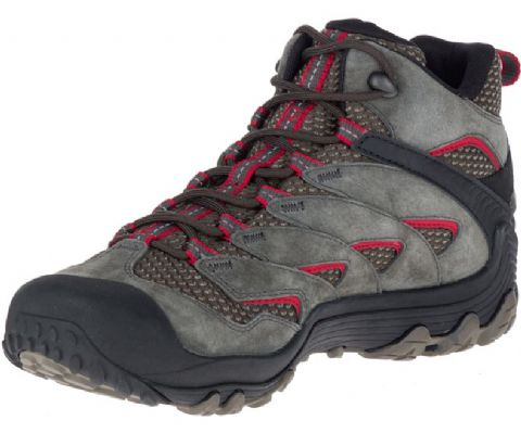 Merrell Mens Chameleon 7 Mid boot - Waterproof - Comfortable - Supportive